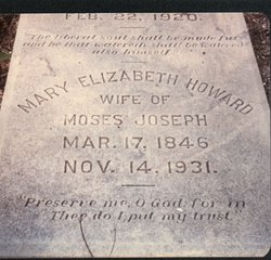 Mary Elizabeth <i>Howard</i> Joseph