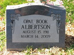Opal Viola <i>Book</i> Albertson