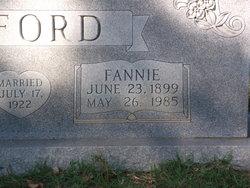 Fannie <i>Brumfield</i> Alford
