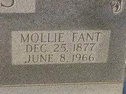 Mary Lucretia Mollie <i>Fant</i> Daves