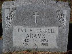 Jean V <i>Carroll</i> Adams