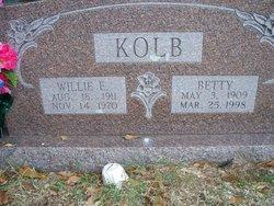 William Edward Willie Kolb
