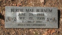 Bertie Mae <i>Shubert</i> Burnum