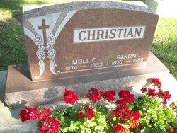 Amalie Mollie <i>Ellertson</i> Christian