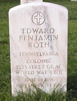 Col Edward Benjamin Roth