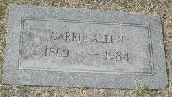 Carrie Willie <i>Barnett</i> Allen