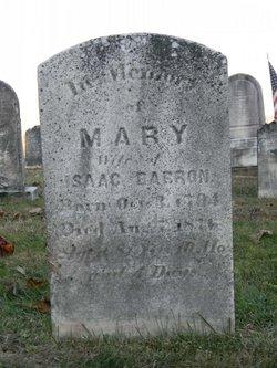 Mary <i>Sterner</i> Barron