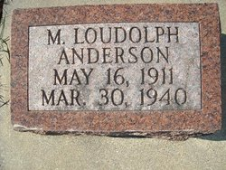 M Loudolph Anderson