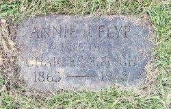 Annie J. <i>Flye</i> Fitch