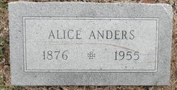 Alice <i>Reeves</i> Anders