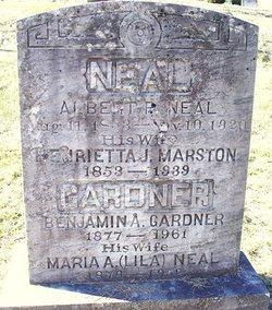 Henrietta J. <i>Marston</i> Neal