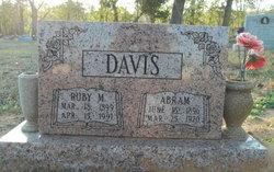 Ruby M <i>Groves</i> Davis
