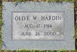 Olive W. <i>Grant</i> Hardin
