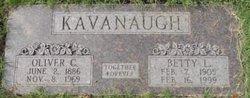 Margaret Elizabeth(Betty) <i>Lusk</i> (Kavanaugh)Watson
