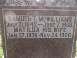 Matilda W. <i>Godfrey</i> McWilliams