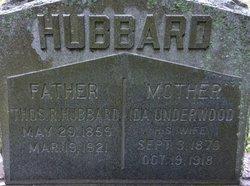 Ida <i>Underwood</i> Hubbard