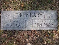 Martha E. <i>Meese</i> Eikenbary