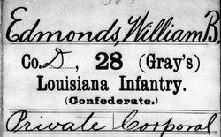 Corp William Burson Edmonds