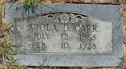 Viola Victoria <i>Johnson</i> Carr
