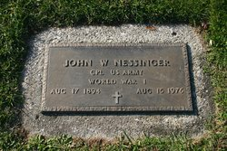 John W Nessinger