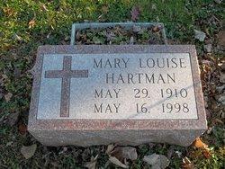 Mary Louise <i>Snavely</i> Hartman