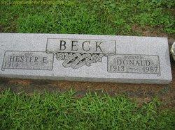 Hester E <i>Pierce</i> Beck