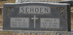 Emma Pauline <i>Hebbe</i> Schoen