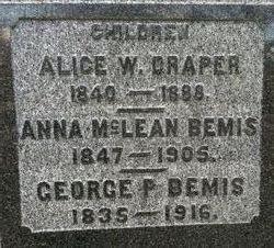 Alice Winslow <i>Bemis</i> Draper