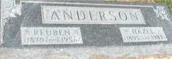 Hazel Ruth Victoria <i>Bergman</i> Anderson