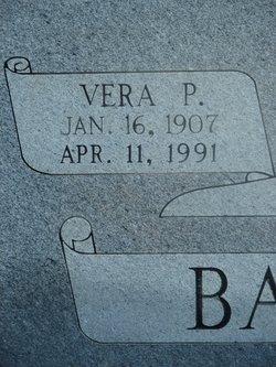 Vera <i>Patterson</i> Bagwell