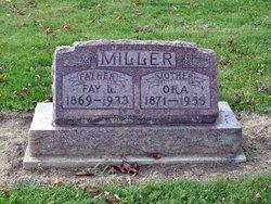 Addie Leora Ora <i>Bobbitt</i> Miller