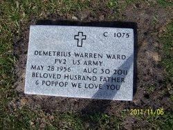 Pvt Demetrius Warren Ward