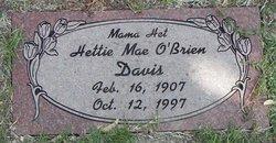 Hettie Mae <i>O'Brien</i> Davis