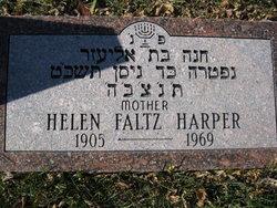 Helen <i>Faltz</i> Harper