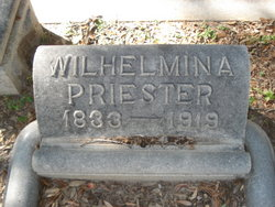 Wilhelmina <i>Herdejurgen</i> Priester