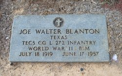Joe Walter Blanton