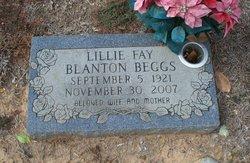 Lillie Fay <i>Blanton</i> Beggs