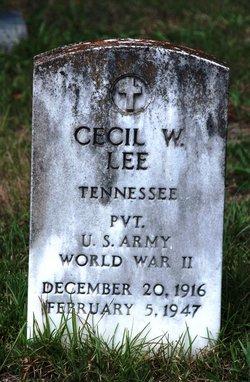 Cecil W. Lee
