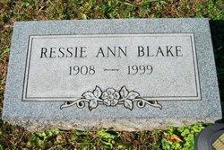 Ressie Ann Blake