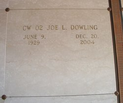Joe L Dowling