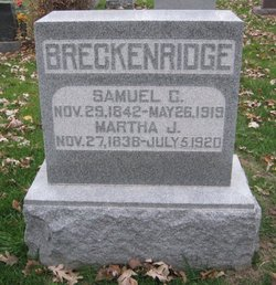 Martha Jane <i>McMillan</i> Breckenridge