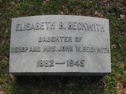 Elizabeth B. Beckwith