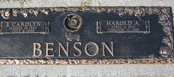 Harold A Benson
