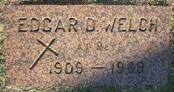 Edgar D Welch
