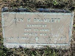 Ben H Bramlett