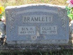 Ollie T Bramlett