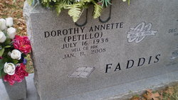 Dorothy Annette <i>Petilco</i> Faddis