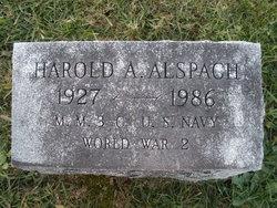 Harold A Alspach