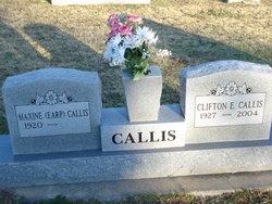Maxine <i>Earp</i> Callis