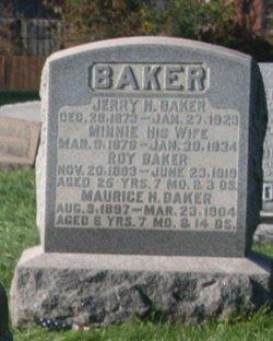 Minnie E <i>Shaffer</i> Baker
